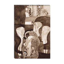 """Jurisprudenz"" Canvas Wall Art by Gustav Klimt"