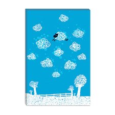 "<strong>iCanvasArt</strong> ""Just Like a Cloud"" Canvas Wall Art by Budi Satria Kwan"