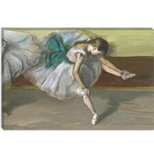 "<strong>iCanvasArt</strong> ""Danseuse Au Repos 1879"" Canvas Wall Art by Edgar Degas"