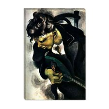 """David 1914"" Canvas Wall Art by Marc Chagall"