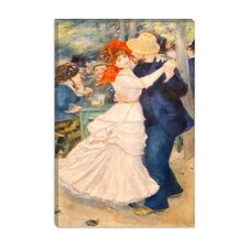 """Dance at Bougival"" Canvas Wall Art by Auguste Renoir aka Pierre-Auguste Renoir"