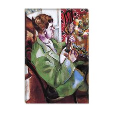 """David in Profile 1914"" Canvas Wall Art by Marc Chagall"