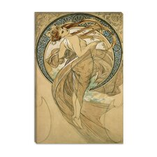 "<strong>iCanvasArt</strong> ""Dance"" Canvas Wall Art by Alphonse Mucha"