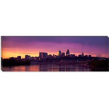 Dawn Kansas City Missouri Canvas Wall Art