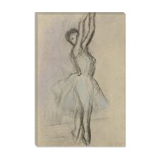 "<strong>iCanvasArt</strong> ""Danseuse Sur Les Pointes"" Canvas Wall Art by Edgar Degas"