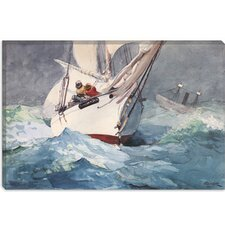 """Diamond Shoal 1905"" Canvas Wall Art by Winslow Homer"