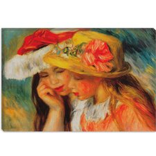 """Deux Soeurs (Two Sisters)"" Canvas Wall Art by Auguste Renoir"