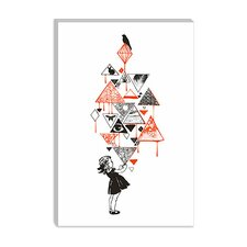 "<strong>iCanvasArt</strong> ""Diamond"" Canvas Wall Art by Budi Satria Kwan"