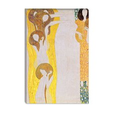 """Die Künste"" Canvas Wall Art by Gustav Klimt"
