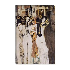 """Die Gorgonen Und Typhoeus"" Canvas Wall Art by Gustav Klimt"