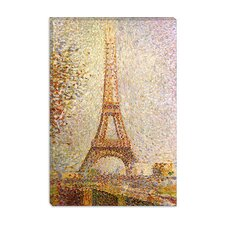 <strong>iCanvasArt</strong> Eiffel Tower Canvas Wall Art by Georges Seurat