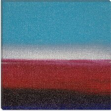 <strong>iCanvasArt</strong> Dreaming of 21 Sunsets - XXI Canvas Wall Art by Hilary Winfield