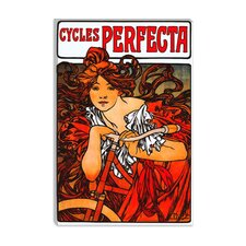 """Cycles Perfecta"" Canvas Wall Art by Alphonse Mucha"