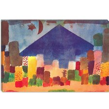 Egyptian Night (Notte Egiziana) Canvas Wall Art by Paul Klee