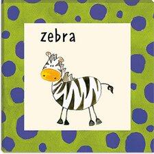 Zebra from Esteban Studio Collection Canvas Wall Art