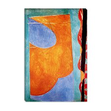 "<strong>iCanvasArt</strong> ""Yellow Curtain"" Canvas Wall Art by Henri Matisse"