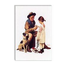 """Young Doctor"" Canvas Wall Art By Norman Rockwell"