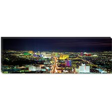 <strong>iCanvasArt</strong> Skyline, Las Vegas, Nevada Canvas Wall Art