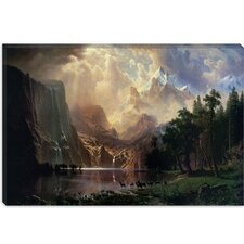 """Sierra Nevada in California"" Canvas Wall Art by Albert Bierstadt"