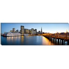 <strong>iCanvasArt</strong> San Francisco Pier, San Francisco, Califorina Canvas Wall Art