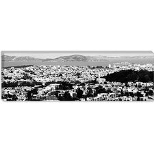 San Francisco Panoramic Skyline Cityscape Canvas Wall Art
