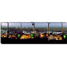 <strong>iCanvasArt</strong> San Francisco Intl Airport Control Tower San Francisco California Canvas Wall Art