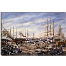 "<strong>iCanvasArt</strong> ""San Pedro Sunrise"" Canvas Wall Art by Stanton Manolakas"