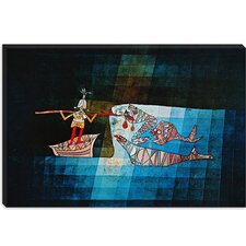 """Sinbad the Sailor"" Canvas Wall Art by Paul Klee"