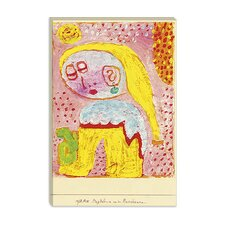 """Magdalena Before the Conversion"" Canvas Wall Art by Paul Klee"