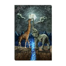<strong>iCanvasArt</strong> Magical Forces of the Moon Canvas Wall Art