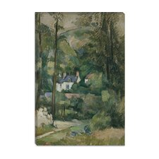 """Maisons Dans La Verdure 1881"" Canvas Wall Art by Paul Cezanne"
