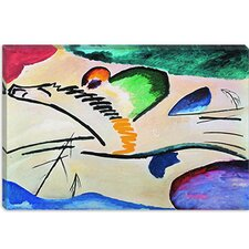 "<strong>iCanvasArt</strong> ""Lyrically (Lyrisches)"" Canvas Wall Art by Wassily Kandinsky Prints"
