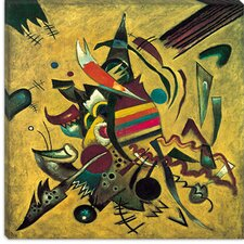 "<strong>iCanvasArt</strong> ""Points"" Canvas Wall Art by Wassily Kandinsky"