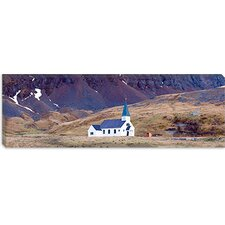 <strong>iCanvasArt</strong> Old Whalers Church, Grytviken, South Georgia Island Canvas Wall Art