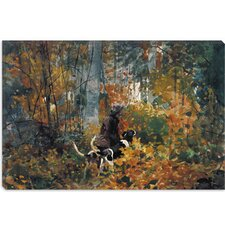 """On the Trail 1892"" Canvas Wall Art by Winslow Homer"