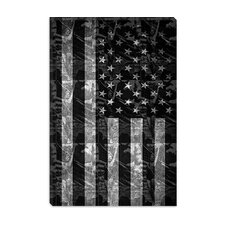<strong>iCanvasArt</strong> Pat Donnelly Miss America Flag Canvas Wall Art