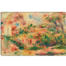 "<strong>iCanvasArt</strong> ""Paysage 1919"" Canvas Wall Art by Pierre-Auguste Renoir"