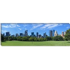 Sheep Meadow, New York City Canvas Wall Art