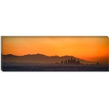 San Gabriel Mountains, Los Angeles, California Canvas Wall Art