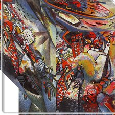 "<strong>iCanvasArt</strong> ""Moscow"" Canvas Wall Art by Wassily Kandinsky"