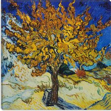 "<strong>iCanvasArt</strong> ""Mulberry Tree"" Canvas Wall Art by Vincent Van Gogh"