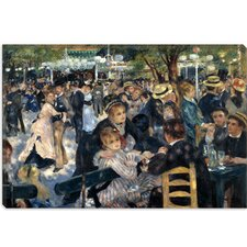 """Le Moulin de la Galette"" Canvas Wall Art by Pierre-Auguste Renoir"