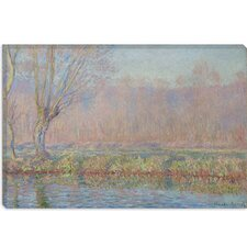 "<strong>iCanvasArt</strong> ""Le Saule"" Canvas Wall Art by Claude Monet"