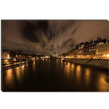 "<strong>iCanvasArt</strong> ""Notre Dame"" Canvas Wall Art by Sebastien Lory"