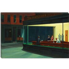 """Nighthawks, 1942"" Canvas Wall Art by Edward Hopper"