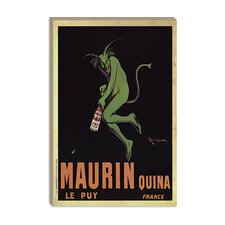 """Maurin Quina (Vintage)"" Canvas Wall Art by Leonetto Cappiello"