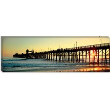 Oceanside Pier, Oceanside, California Canvas Wall Art