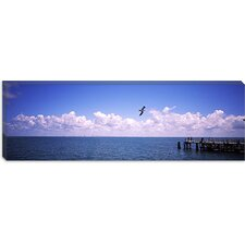 Fort De Soto Park, Tampa Bay, Florida Canvas Wall Art