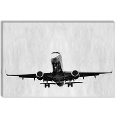 <strong>iCanvasArt</strong> Takeoff Modern Canvas Wall Art