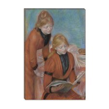 """La Lecture 1889"" Canvas Wall Art by Pierre-Auguste Renoir"